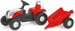 Rolly Toys Tractor Cu Pedale Si Remorca 012510
