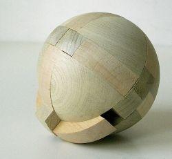 Fa logikai játék - Japán gömb