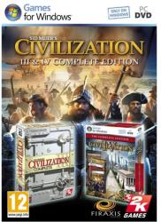 2K Games Sid Meier's Civilization III & IV [Complete Edition] (PC)