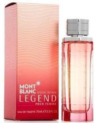 Mont Blanc Legend pour Femme (2014 Special Edition) EDT 50ml