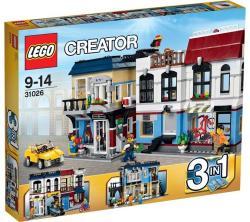 LEGO Creator - Kerékpárüzlet és kávéház (31026)