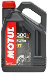 MOTUL 300V 5W30 4T 4L