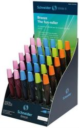 Schneider Breeze rollertoll display(30db), 0.5mm, SIS, vegyes színek
