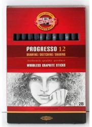 Koh-I-Noor Grafitceruza  Progresso 2B 12db