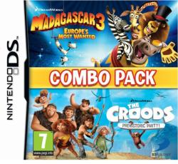 D3 Publisher Combo Pack: Madagascar 3 Europe's Most Wanted & The Croods Prehistoric Party (Ninendo DS)