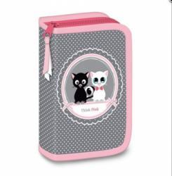 Ars Una Think-Pink cicás töltött tolltartó (93576734)