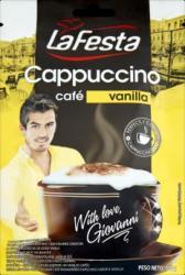 La Festa Cappuccino, instant, vanília, 100g