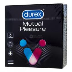 Durex Mutual Pleasure (Performax) intenzív élvezet - 3db