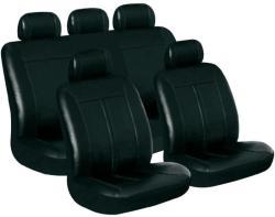 Eufab Buffalo műbőr autó üléshuzat készlet, fekete, 11 részes