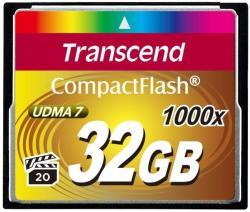 Transcend CompactFlash 32GB 1000x (CF) TS32GCF1000