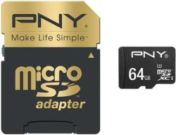 PNY microSDXC Elite Performance 64GB UHS-I Class 10 (SDU64G10ELIPER-EF)