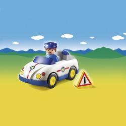 Playmobil Rendőrautó figurával (6797)
