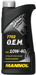 MANNOL 7702 OEM for Chevrolet Opel 10W-40 (1L)