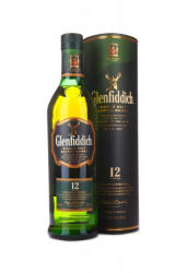 Glenfiddich 12 Years Whiskey 0,7L 40%