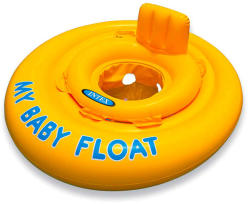 Intex My Baby Float beülős bébi úszókarika 70cm (INTEX-56585EE)