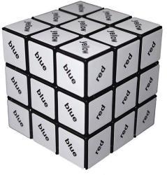 Rubik Szöveg kocka 3x3x3