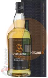 SPRINGBANK 10 Years Whiskey 0,7L 46%
