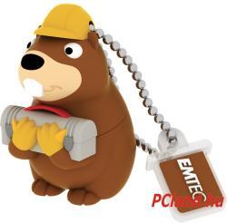 EMTEC Building Beaver M338 8GB USB 2.0 ECMMD8GM338