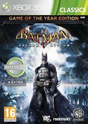 Eidos Batman Arkham Asylum [Game of the Year Edition] (Xbox 360)