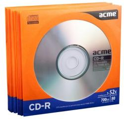 ACME CD-R 700MB 52x - papír tok 10db