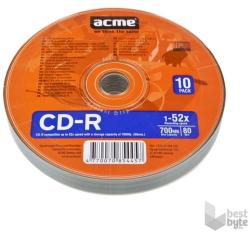ACME CD-R 700MB 52x - vékony  tok 10db