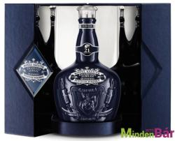 CHIVAS REGAL 21 Years Royal Salute Whiskey Sapphire Flagon 0,7L 40%