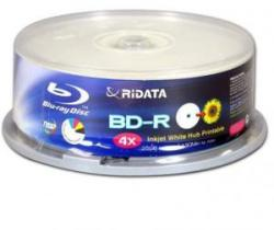 RiDATA Blu-Ray BD-R 25Gb 4X 25бр