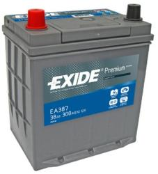 Exide Premium 38Ah EN 300A borna normala (EA386)