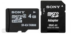 Sony MicroSDHC 8GB Class 4 SR8A4