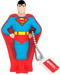 EMTEC SH100 Superman 8GB ECMMD8GSH100