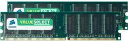 Corsair 2GB (2x1GB) DDR 400MHz VS2GBKIT400C3