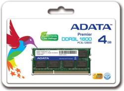 ADATA 4GB DDR3 1600MHz ADDS1600W4G11-R