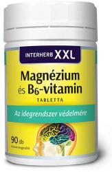Interherb XXL Magnézium és B6-vitamin - 90db