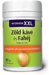 Interherb XXL Zöld kávé és Fahéj - 90db