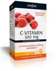 Interherb C-vitamin 500mg Csipkebogyó Kivonattal (60db)
