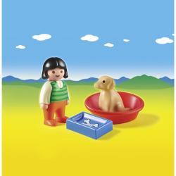 Playmobil Kislány kutyával (6796)
