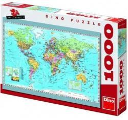Dino Politikai világtérkép 1000 db