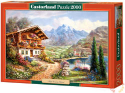 Castorland Magas vidéki menedék 2000 db-os (C-200511)