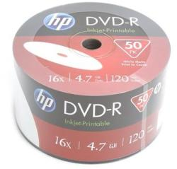 HP DVD-R 4.7GB 16x - henger 50db Nyomtatható