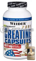 Weider Pure Creatine - 200 caps