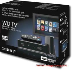 Western Digital TV Media Player WDBPUF0000NBK