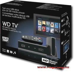 Western Digital TV Media Player WDBPUF0000NBK