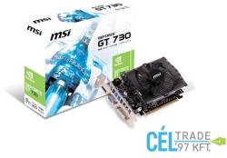 MSI GeForce GT 730 2GB GDDR3 128bit PCIe (N730-2GD3)
