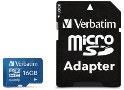 Verbatim microSDHC 16GB UHS-I 44043