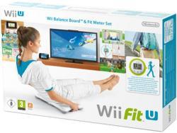 Nintendo Wii Fit U Meter+Balance Board