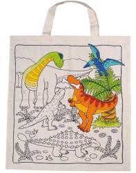 Kifesthető textilzsák - Dínós