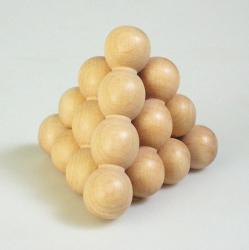 Logikai kirakó - Gömb piramis
