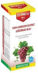 Dr. Herz Hidegen sajtolt szőlőmag olaj - 50ml