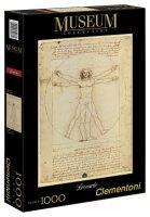 Clementoni Leonardo - Vitruvius tanulmány 1000 db-os (391370)