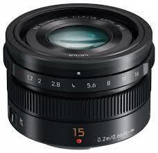 Panasonic H-X015 15mm f/1.7